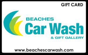 Beaches Car Wash Gift Cards