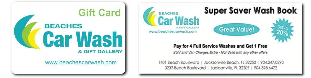 BCW Gift Card Wash Book